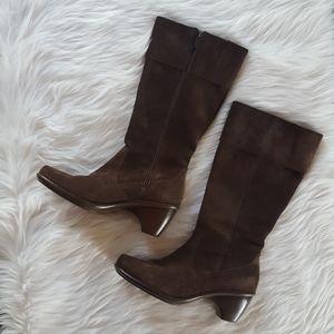 Dansko Suede Risa Boots Dark Brown 10 Eu 41